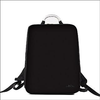 Luxburg® Diseño Mochila Multifuncional, Mochila para portátil para el Ocio, Escuela, Oficina, de hasta 15 Pulgadas, Motivo: Negro