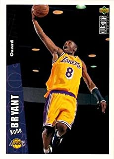 1996-97 Upper Deck Collector's Choice Basketball #267 Kobe Bryant Rookie Card