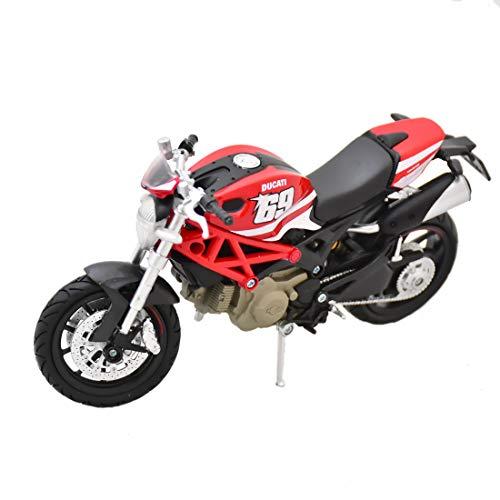New Ray - 57523 - Véhicule Miniature - Ducati Monster 796 - N° 69 - Echelle 1:12
