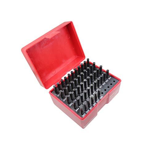 """T0018 Pin Gage Set (50Pcs) M0-, 0.011"""" to 0.060"""" Minus Class ZZ"""