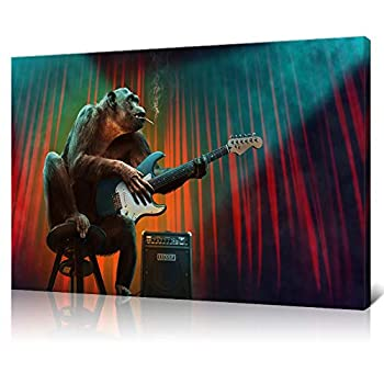 Best guitar canvas painting Reviews