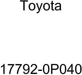 ملصق معلومات خرطوم مكنسة المحرك Toyota 17792-0P040
