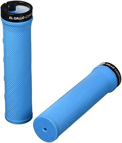 El Gallo Components 1Ring - Puños, color Azul neón, Pack de 2