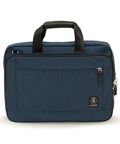 Bürotasche Invicta – Blau – Laptoptasche bis 15,6 Zoll – Schultergurt – Herren & Damen