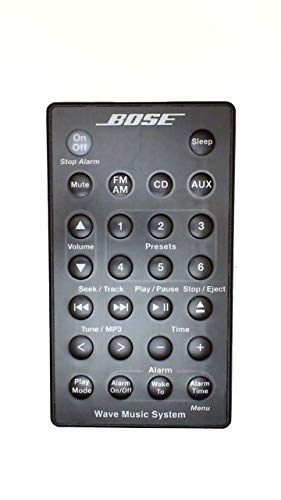 Bose Remote For Wave Music System With CD AWRCC1 Graphite Black