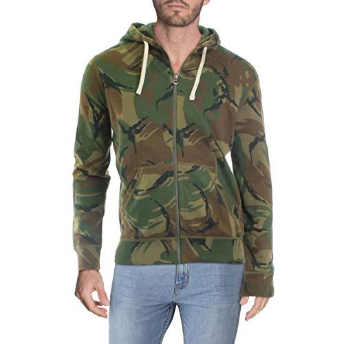 Polo Ralph Lauren New Mens Zip Front CAMO Jacket/Hoodie Sweatshirt M
