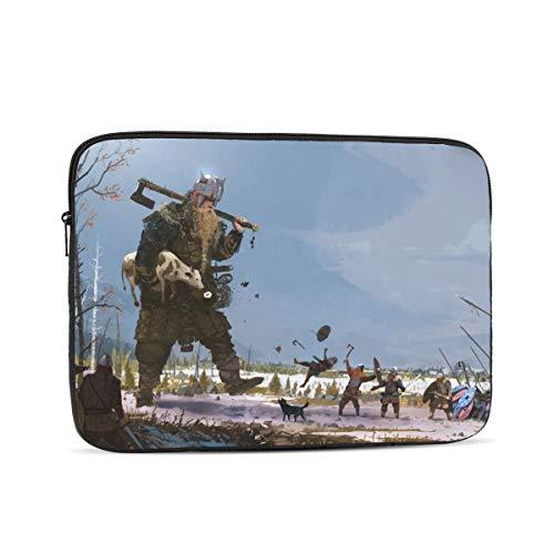 KXT Viking Giant Design Laptop Sleeve Case Bag for MacBook Pro/MacBook Air/Hp/Dell/Lenovo/Thinkpad/Asus/Acer