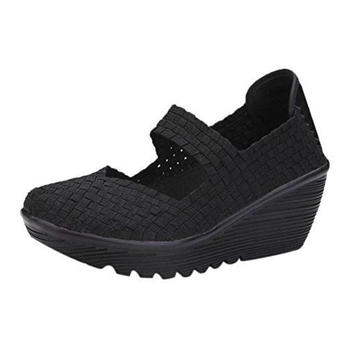 Zapatos Mujer Otoño 2018 Zapatillas Cuña Dama Plataforma