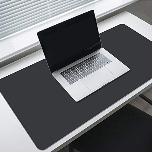 KFRSQ Alfombrilla de escritorio grande, de piel sintética, resistente al agua, multifuncional, alfombrilla de escritura, ultra fina, para oficina, hogar, juegos