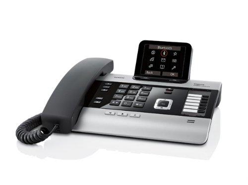 Gigaset DX800A 7 usuario(s) - Central telefónica PBX (7 usuario(s), G.711,G.722,G.726, 100-240 V, 50-60 Hz, 263 x 168 x 108 mm)