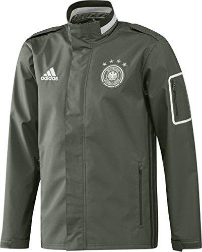 adidas 2016-2017 Germany Travel Jacket (Green)