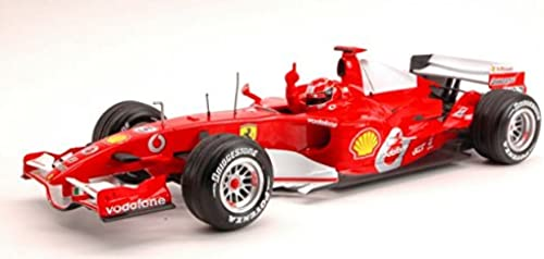Hot Wheels HWM6713 Ferrari M.Schumacher Monza 2006 1 18 MODELLINO DIE CAST Model kompatibel mit