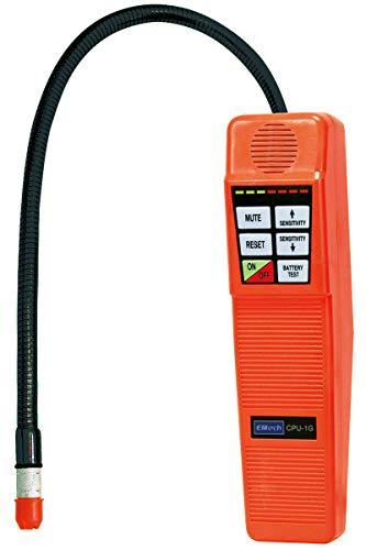 Elitech CPU-1G HVAC Leak Detector Halogen Gas Tester HVAC Refrigerant AC Sniffer R22 R410A R134A