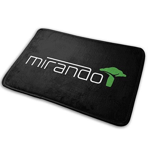 Mirando Logo Okja Indoor Outdoor Teppich 40cmx60cm Haustürmatte Wasserdicht, rutschfest Waschbar Feuchtigkeit schnell absorbieren