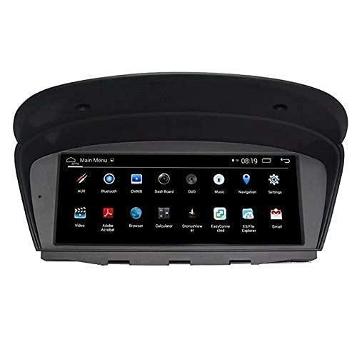 8,8 pollici Android 9.0 Unità principale Navigazione GPS Touch Screen Autoradio Stereo Supporta RDS Bluetooth WIFI SWC per BMW E60 E61 M5 E63 E64 M6 E90 E91 E92 E93 M3 2001-2004