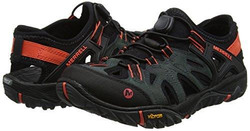 Merrell Women's Low Rise Hiking Shoes, Grey Dark Slate, 10