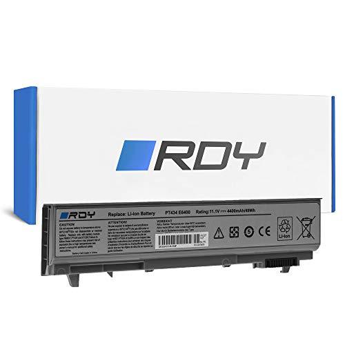 RDY Laptop Battery for Dell Latitude E6400 ATG XFR E6410 E6510 PP27LA PP27LA001 PP30L PP30LA PP30LA001 PP36S Precision M2400 (4400mAh 11.1V)