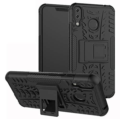 Labanema Zenfone 5Z ZS620KL Hülle, Abdeckung Cover schutzhülle Tough Strong Rugged Shock Proof Heavy Duty Case Für Asus Zenfone 5Z ZS620KL (6.2 Zoll)-Schwarz