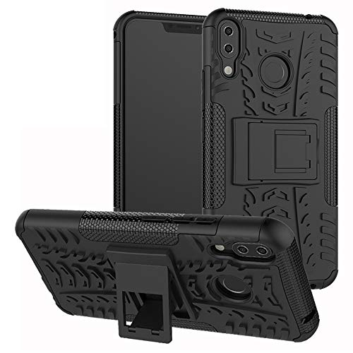 Labanema Zenfone 5Z ZS620KL Hülle, Abdeckung Cover schutzhülle Tough Strong Rugged Shock Proof Heavy Duty Case Für Asus Zenfone 5Z ZS620KL (6.2 Zoll)-Schwarz