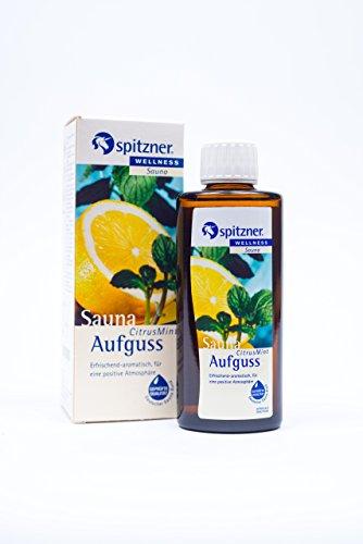 Spitzner Saunaaufguss Wellness Citrus-Mint (190ml) Konzentrat