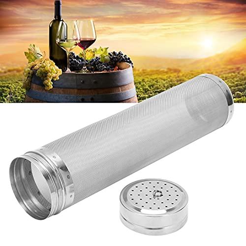 Filtro de preparación, filtro de cerveza Acero inoxidable Resistencia a altas y bajas temperaturas para filtrar vino para filtrar cerveza casera para filtrar café