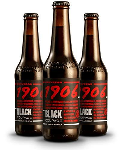 1906 Black Coupage Cerveza - Pack de 24 botellas x 330 ml - Total: 7.92 L