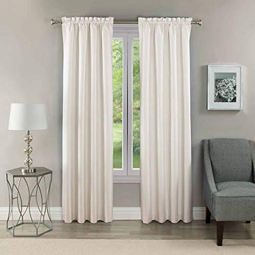 Eclipse Samara Blackout Energy-Efficient Thermal Curtain Panel,...