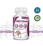Triptofano con magnesio y vitamina b6, mas melatonina, espirulina, vitamina B3 y B5, 60 comprimidos de 1.300 mg. Antiestres natural, contra la ansiedad natural, propulsor de serotonina natural