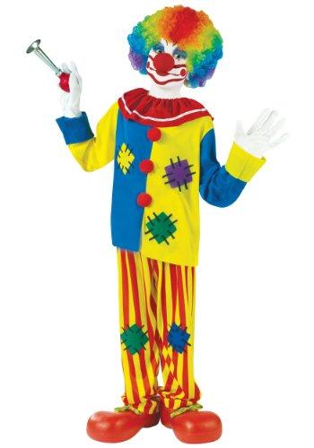 Child Big Top Clown Costume Medium (8-10)