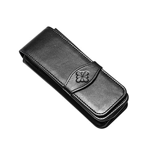 DIPLOMAT - D41000003 - Lederhülle Für 3 Stifte - Schick und Elegant - Langlebig - Schwarz