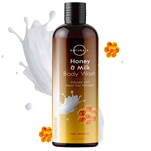 O Naturals Milk & Honey Body Wash