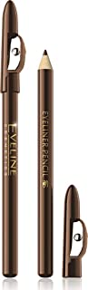EVELINE COSMETICS Make Up Eyeliner Pencil Long-Wear, Brown, 3 gm