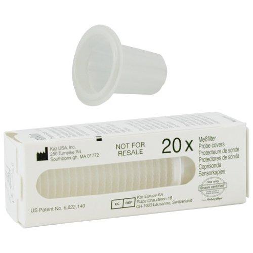 200X una vez de tapas protectoras Medición filtro para Braun ThermoScan de Welch Allyn
