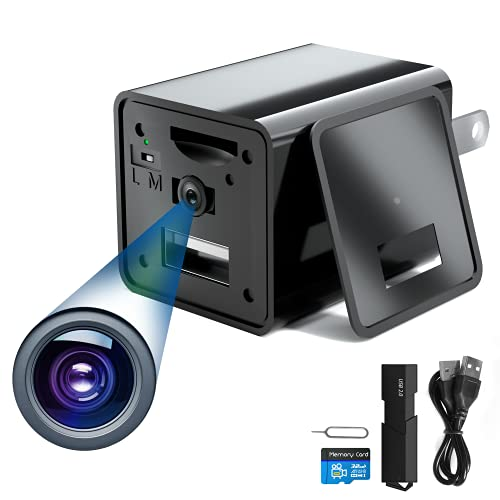 Spy Camera Charger - Hidden Camera Charger - USB Charger Camera 1080P - Hidden Spy Camera - Hidden Nanny Cam - Hidden Spy Cam - Hidden Cam - Surveillance Camera Full HD