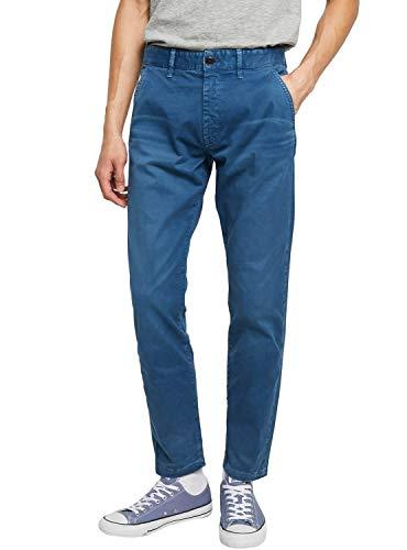 Pepe Jeans Callen Chino Pantalones, Azul (Thames 583), Talla única (Talla del...