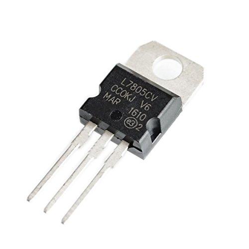 10 unids L7805CV L7805 7805 Regulador de Voltaje 5VTO-220 []