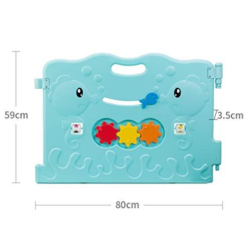 PNFP Baby Playpen 1 Paneel, Kid's Activity Center Unit Accessoires van hekken en deuren, gebruikt voor gratis combinatie, vervanging of uitbreiding