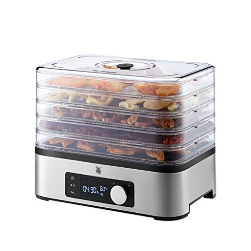 Lowest Prices! Electric Food Dehydrator - Food Dehydrator Machine Smart Timing Temperature Adjustmen...