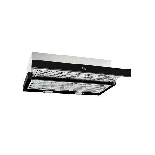 Teka CNL 6400 Black 40436802 Dunstabzugshaube/Unterbauhaube/79 cm/Metall-Fettfilter spülmaschinegeeignet