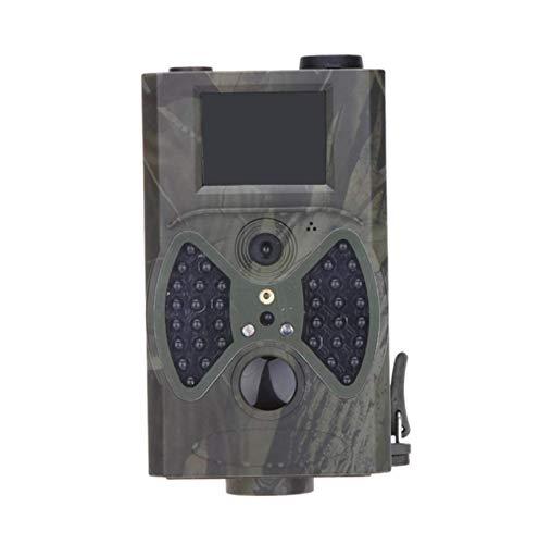 12MP Cámara De Caza Impermeable IP54, Cámara De Vigilancia con 60°Gran Angular Visión Nocturna Cámara De Detección De Movimiento Captura De Fotos