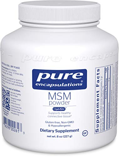 Joint Health: MSM is a naturally-derived sulfur formula that helps support joint functionality and comfort, specifically connective tissue health.* Immune Function: MSM also provides potential support for immune and respiratory health.* Hair, Skin, &...