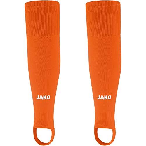 JAKO Kinder Glasgow 2.0 Stutzen, orange (neonorange), 0 (Herstellergröße: Bambini), 3414