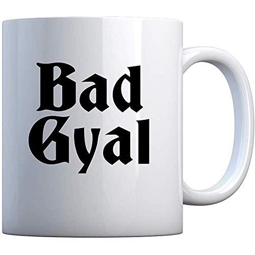 Taza Bad Gyal 11oz Pearl White Gift Mug