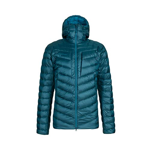 Mammut Herren Broad Peak Hooded Daunenjacke, Wing Teal-Sapphire, XL