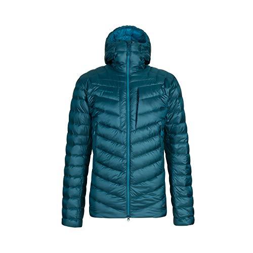 Mammut Broad Peak Hooded Giacca da uomo, Uomo, giacca, 1013-00260, Blu (Wing teal/Sapphire), XXL