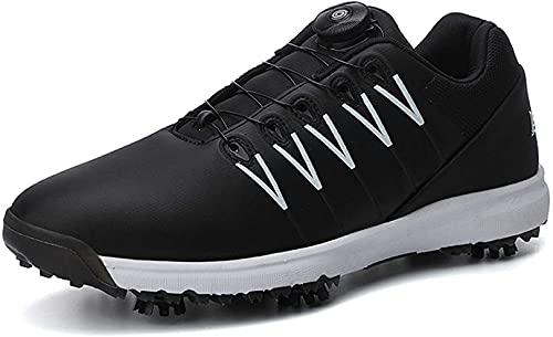 Zapatos de Golf Impermeables Boa Marca WUDAXIAN