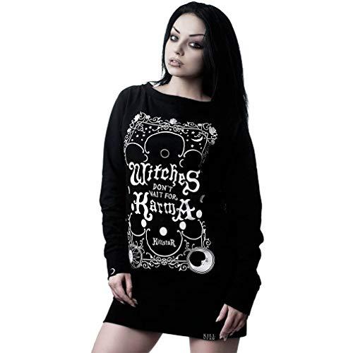 Killstar Sweater Minikleid - Karma L