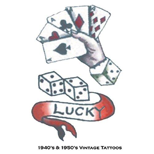 Generique - Abzieh-Tattoo Set Pin up Matrosin