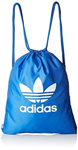 adidas Erwachsene Trefoil Sportbeutel, Blue, 37 x 47 cm