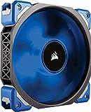 Corsair ML120 Pro LED PC-Gehäuselüfter (120 mm, mit Premium Magnetschwebetechnik, blaue LED,...